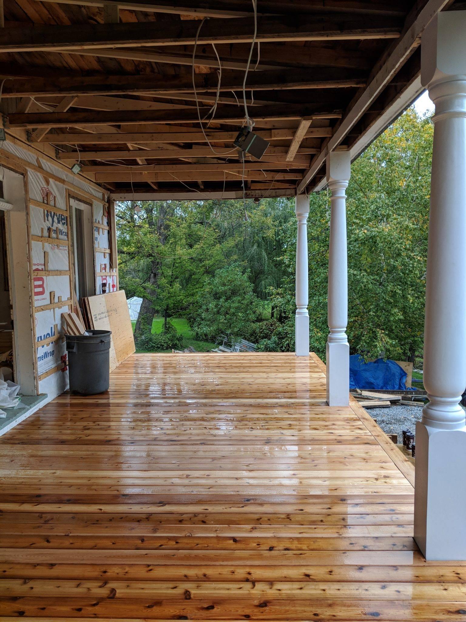 Rénovation Extérieure Terrasse à Montebello Projet Action